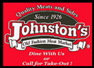 Johnston's Meat Locker Logo |