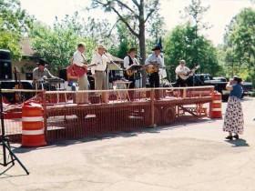 Truck bed Gospel Singers