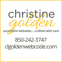 Christine Golden, successful websites... crafted with care 850-242-3747 clgoldenwebcode.com