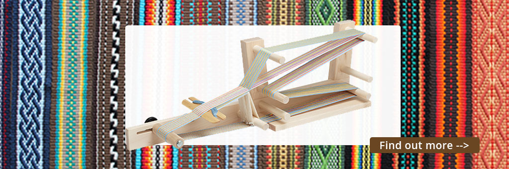 Inkle Loom Weaving Class - Find out more...