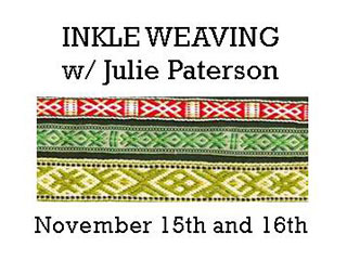 Inkle Weaving with Julie Paterson