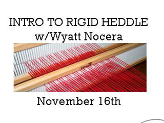 Intro to Rigid Heddle with Wyatt Nocera